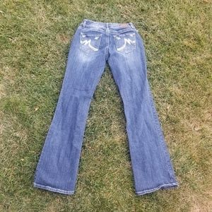 Maurice denim sz 7 long
